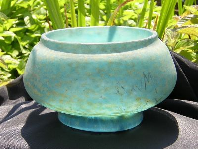 Daum Glass -2. daumvitrifiedbowl