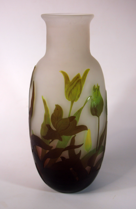 Emile Galle Cameo - Botanicals Large. galletulips2b