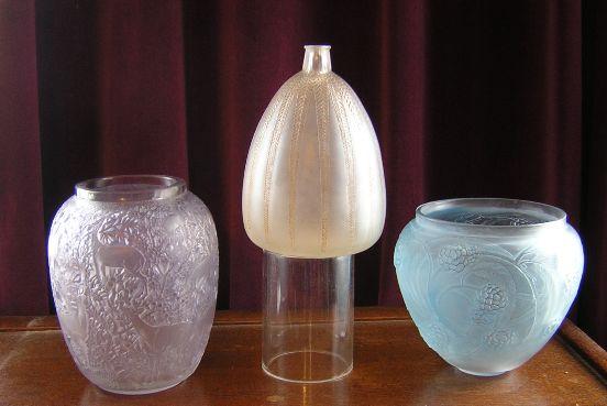 Rene Lalique Vases